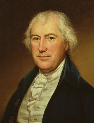 Aging Painting - John Beale Bordley by Charles Willson Peale