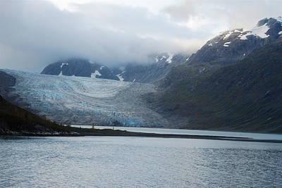 John Hopkins Glacier Print by Michael Peychich