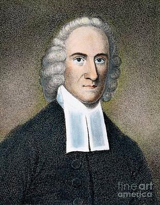 Colonial Man Photograph - Jonathan Edwards by Granger