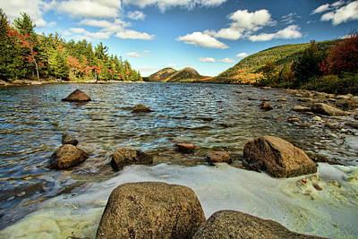 Maine Park Photograph - Jordan Pond by Alexander Mendoza