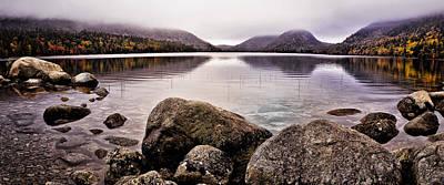 Maine Park Photograph - Jordan Pond by Chad Tracy