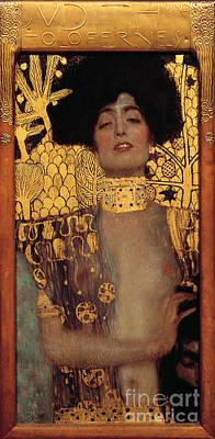 Choker Painting - Judith by Gustav Klimt