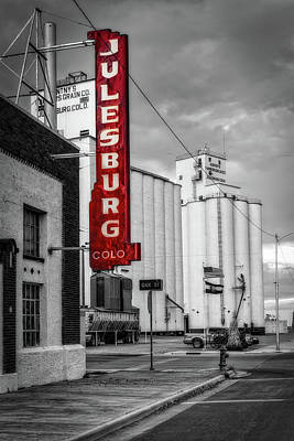 Julesburg Colorado Print by Mountain Dreams