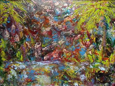 Hot Wax Painting - Jungle Fever by Cheryl Lynn Looker