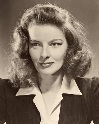 Katharine Hepburn Photograph - Katharine Hepburn 1941 by Mountain Dreams