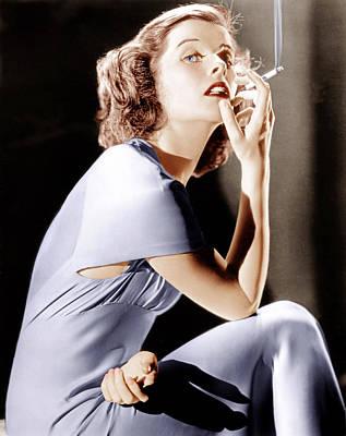 Katharine Hepburn Photograph - Katharine Hepburn, Ca. 1930s by Everett