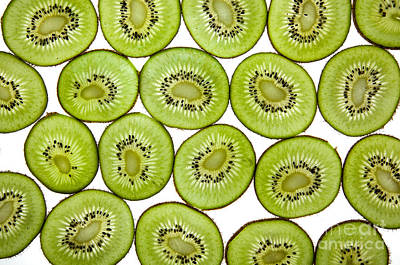 Kiwifruit Print by Nailia Schwarz