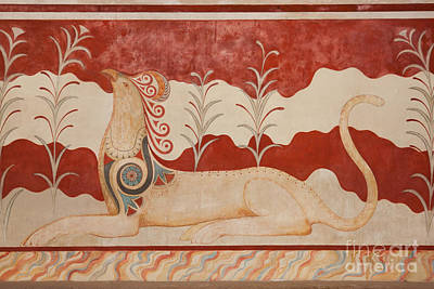Throne Room Photograph - Knossos Archeological Site by Gabriela Insuratelu
