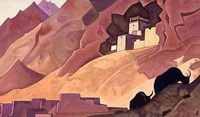 Animal Symbolism Painting - Koksar by Nicholas Roerich