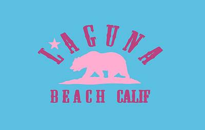 Laguna Beach Mixed Media - Laguna Beach by American Roadside