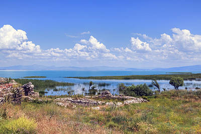 Lake Beysehir - Turkey Print by Joana Kruse
