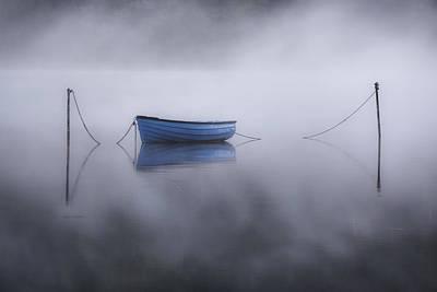 Snowdon Photograph - Lake Llyn Padarn - Wales by Joana Kruse