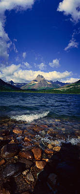 State Of Montana Photograph - Lake Sherburne, Glacier National Park by Panoramic Images