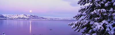 Overcast Photograph - Lake Tahoe Ca by Panoramic Images