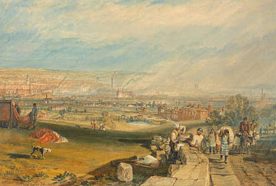 Romanticism Painting - Leeds by JMW Turner