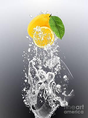 Lemon Splast Print by Marvin Blaine