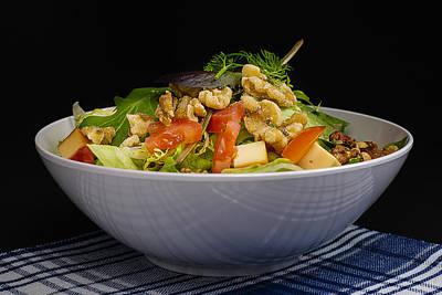 Lettuce Photograph - Lettuce Herb  Salad by Donald  Erickson