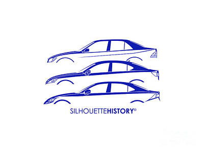 Lexury Silhouettehistory Print by Gabor Vida