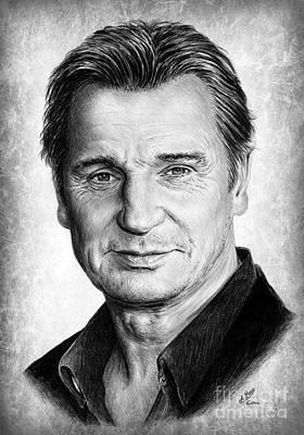 Liam Neeson Original by Andrew Read