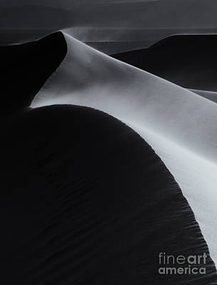 Sand Dunes Photograph - Light And Shadow by Mike Dawson