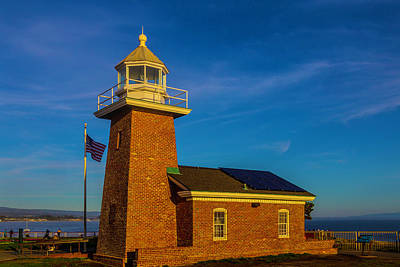Abbott Photograph - Lighthouse Point by Garry Gay