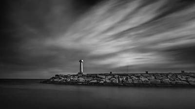 Lighthouse Print by Stelios Kleanthous