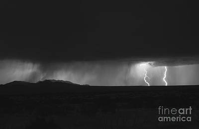Lightning Storm Over Northern New Print by Roth Ritter