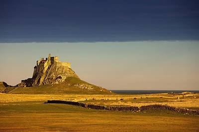Lindisfarne Photograph - Lindisfarne, Northumberland, England A by John Short