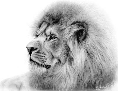 Lion Original by Danguole Serstinskaja