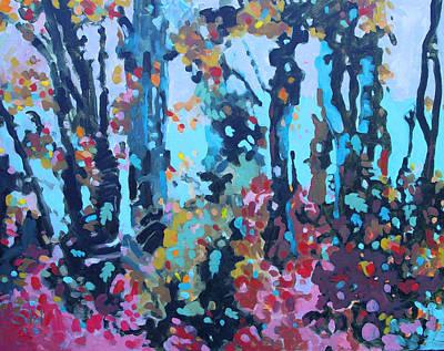 An Island Painting - Little Garys by Rob Owen