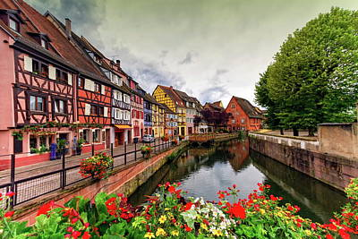 Photograph - Little Venice, Petite Venise, In Colmar, Alsace, France by Elena Duvernay