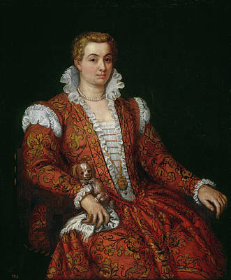 Portrait Painting - Livia Colonna by Paolo Veronese
