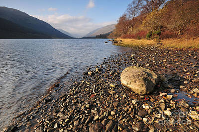 Loch Photograph - Loch Voil by Stephen Smith