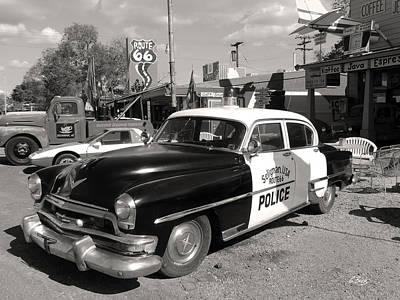 Law Enforcement Art Photograph - Long Retired Monochrome by Gordon Beck