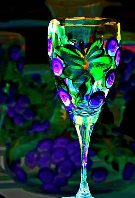 Long Stemmed Glass Print by Dale Stillman