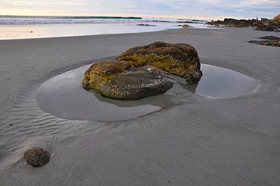 Longsands Rock Print by Catherine Easton