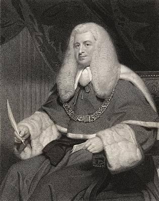 Lord Drawing - Lord Lloyd Kenyon 1st Baron Kenyon by Vintage Design Pics