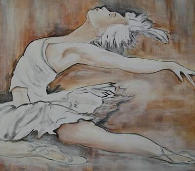 Ballet Painting - Lost In Music 2 by Jean Billsdon
