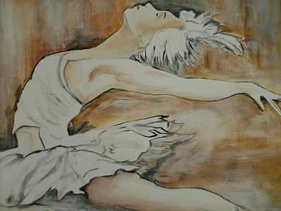 Ballet Painting - Lost In Music by Jean Billsdon