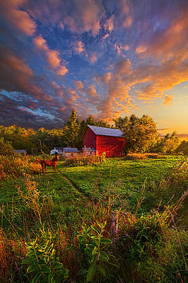 Love's Pure Light Print by Phil Koch