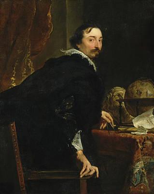 Indoor Painting - Lucas Van Uffel by Anthony van Dyck