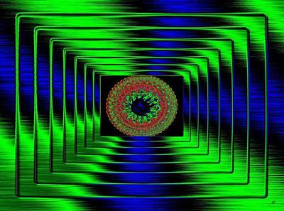 Will Power Digital Art - Luminous Energy 5 by Will Borden
