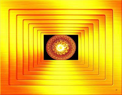 Will Power Digital Art - Luminous Energy 7 by Will Borden