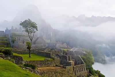 Photograph - Machu Pichu by Kobby Dagan
