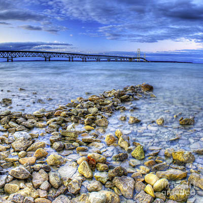 Mackinac Photograph - Mackinac Shores by Twenty Two North Photography