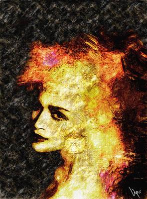 Madonna Painting - Madonna  by Vya Artist