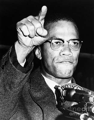 Muslim Photograph - Malcolm X (1925-1965) by Granger