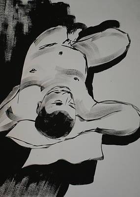 Male Nude Original by Joanne Claxton