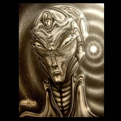 Mantis Deity Print by John Shook