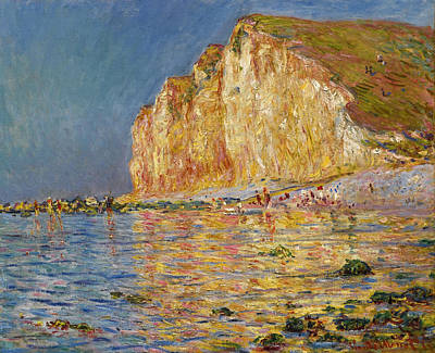 Painting - Maree Basse Aux Petites-dalles by Claude Monet
